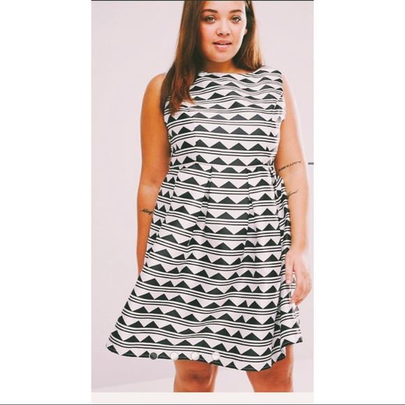 Plus size skater dress- ASOS